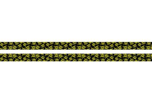 SKULL HEAD GOTH EMO PUNK SKULLS BLOCKERS Quality SATIN LANYARD NECK STRAP RIBBON