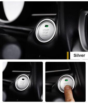 Gold Interior Console Engine Start Push Button Cover Trim For Mazda 3 Axela CX5
