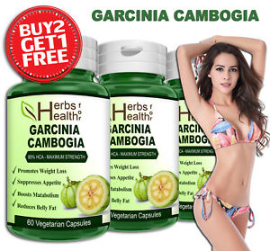 GARCINIA-CAMBOGIA-Capsules-100-Organic-Weight-Loss-Belly-Fat-Burner-Metabolism