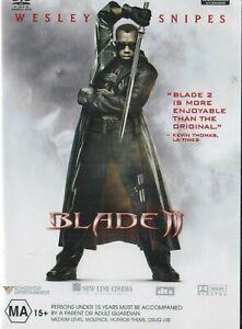 Blade-2-Wesley-Snipes-Kris-Kristofferson-Vampires-Darkness-and-Evil-NEW