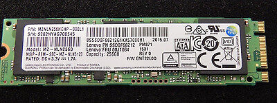 Samsung M.2 mSATA 256GB Solid State SSD MZNLN256HCHP-000L2