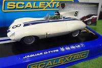 Voiture Slot Jaguar D Type Briggs Cunningham Sebring 1/32 Scalextric C3308