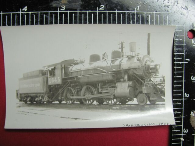 1953 SOUTHERN PACIFIC 4-8-4 LOCOMOTIVE NO 4452 SAN FRANCISCO,CA Picture New
