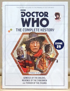 Doctor Who Complete History Issue 29 Vol 23 Genesis of the Daleks *NEW & SEALED*