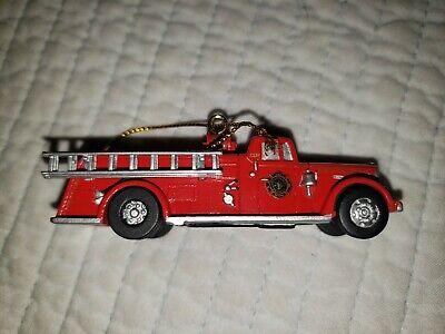NIB First Gear Fire Truck 1956 Ward LaFrance Ornament