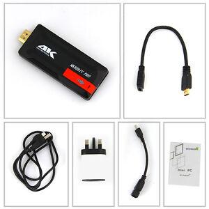 MK809IV Pro 4K Android 6.0 S905X Smart TV Dongle Box Stick Mini PC Quad Core