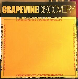SEALED-Chuck-Loeb-LP-Dedicated-To-George-Benson-Grapevine-GVR-3304-1990