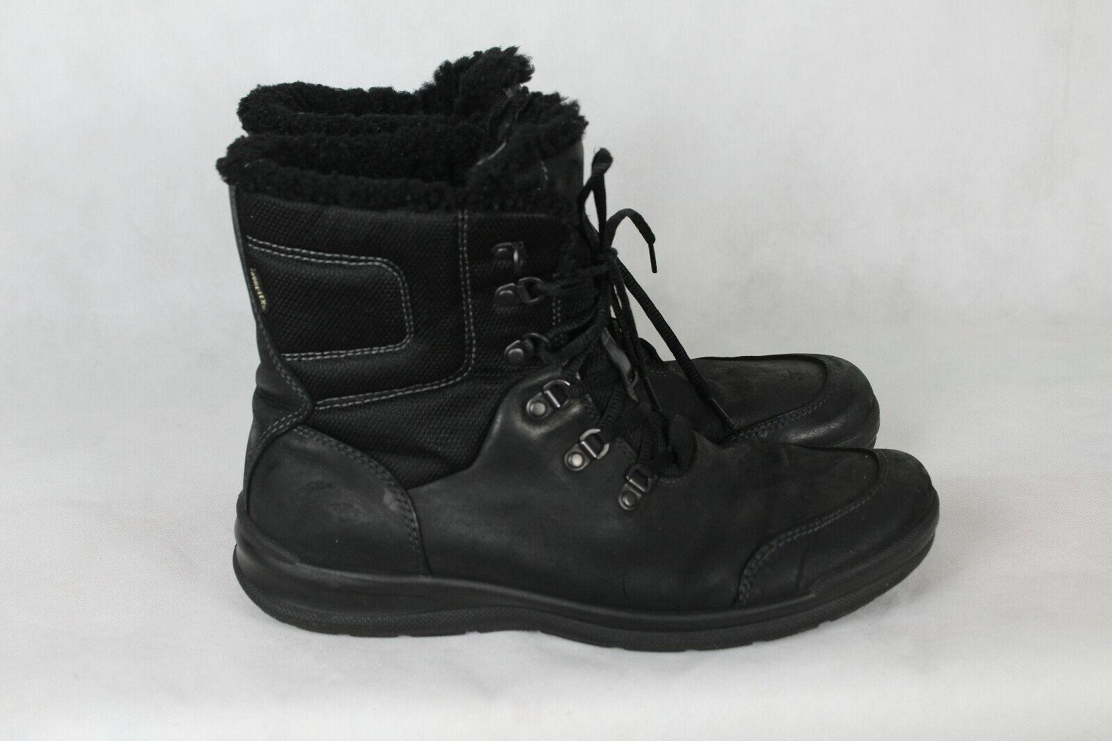 Ecco gore Tex zapatos, botas, forro, caballeros talla 44, buen estado