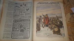 DOMENICA-DEL-CORRIERE-51-1914-GUERRA-POLONIA-LANCIERI-MILANO-COLLI-EUGANEI