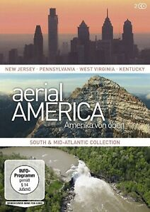 Aerial-America-Amerika-von-oben-South-and-Mid-Atlantic-Collection-2-DVDs-NEU