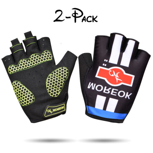 Bike Motorcycle Cycling Racing Bicycle Riding Mountain Road Half Finger Gloves