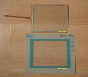 New SIEMENS TP177A 6AV6642-0AA11-<wbr/>0AX1 touch screen /glass & protective film/mask