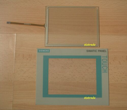 New SIEMENS TP177A 6AV6642-0AA11-0AX1 touch screen //glass /& protective film//mask