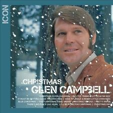 GLEN CAMPBELL - ICON - Christmas  (CD,2013,Capitol) 11 Tracks  NEW - SEALED