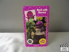 Barney - Rock With Barney (VHS, 1992)