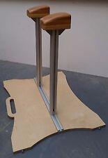 Handstand Canes, Adjustable Width, Solid Oak Handstand Blocks, Fully portable