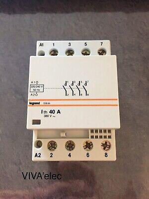 contacteur legrand 40A 4p bobine 230v 03867