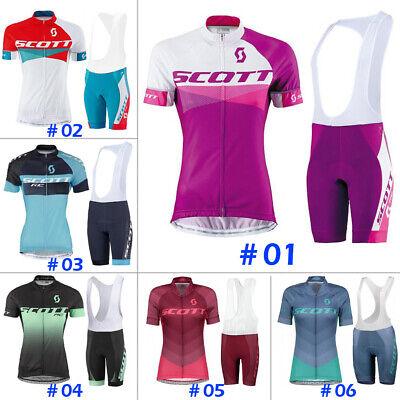 Mens Cycling Jersey Short Sleeve Bike MTB Shirt Jacket Scott Clothes Top Tight