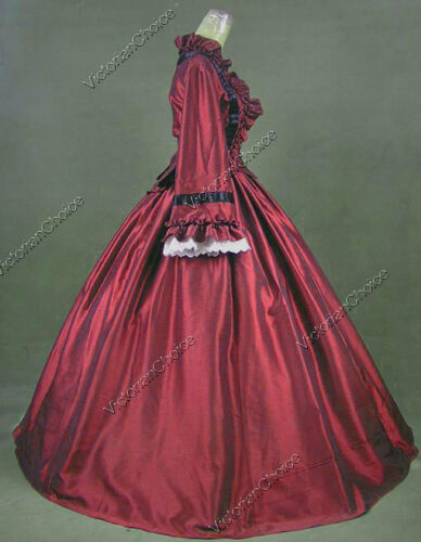VictorianChoice Civil War Victorian Dress Ball Gown Theater Reenactment Wear 170