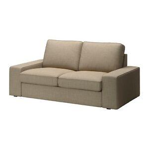 IKEA KIVIK 2-Seat Loveseat Slipcover 502.750.73 (Isunda Beige)