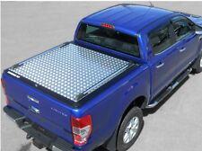 Ford Ranger 2016> NLG* Tonneau cover aluminium chequer plate design, double cab