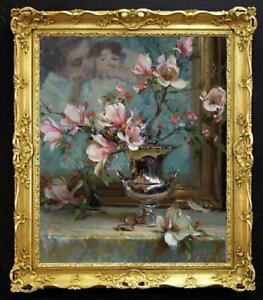 "Hand painted Original Oil Painting art still life Flower on canvas 20""X24"""
