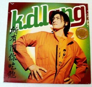 K-D-LANG-034-All-You-Can-Eat-034-SUPER-RARE-1995-Lp-STILL-SEALED-w-HYPE-STICKER