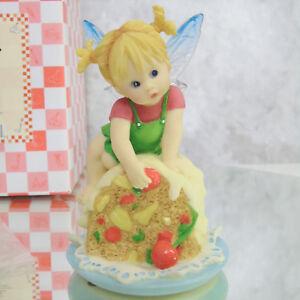 Mi-Poco-Cocina-Hadas-Fruitcake-Fairie-Navidad-Angel-Fairy-Estatuilla-de-Punta
