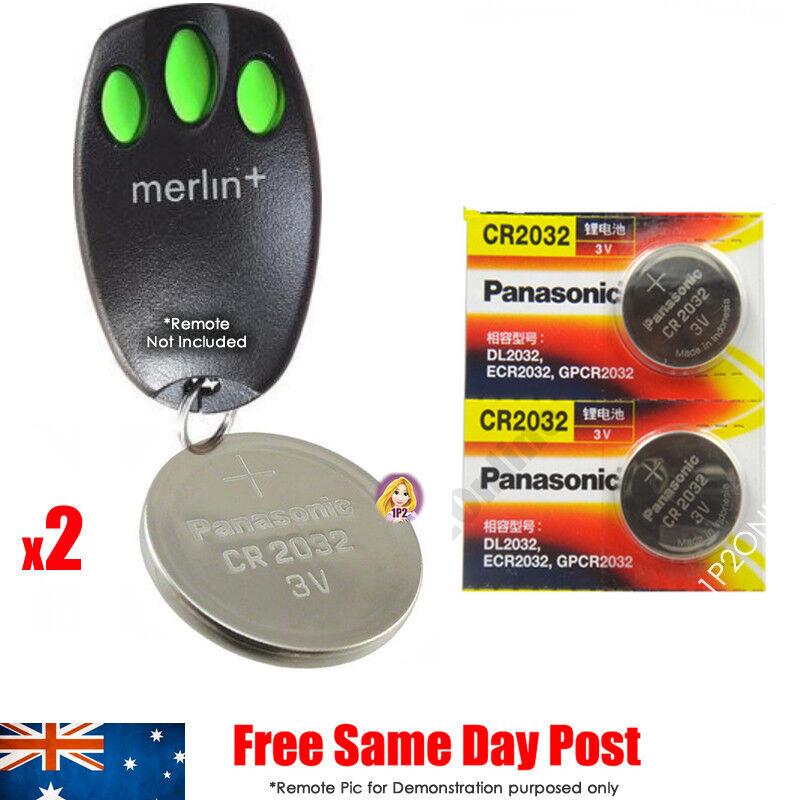 Remote Battery Replacement Merlin C945 Bear Claw Garage Door Chamberlain PLUS +