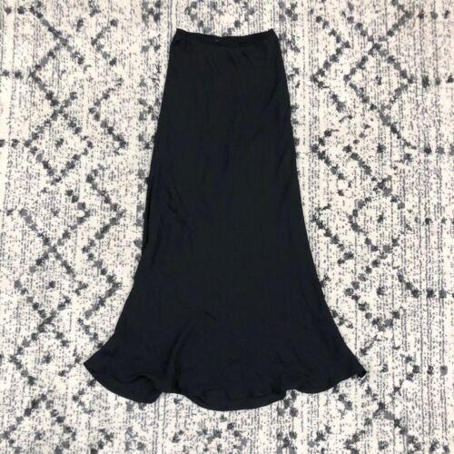 Harari Maxi Slip Skirt Size Medium Bias Cut Semish