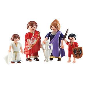 Playmobil-Roman-Family-Building-Set-6493-NEW-Learning-Toys
