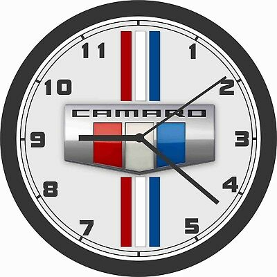 1989 CHEVROLET CAMARO IROC Z CONVERTIBLE WALL CLOCK-FREE USA SHIP