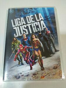 Liga de La Justice Marvel Studios Superman BATMAN DVD Spagnolo English Nuovo Am