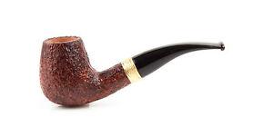 Pfeife Pipes Pipe Savinelli Tevere 628 radica rusticata curva made italy