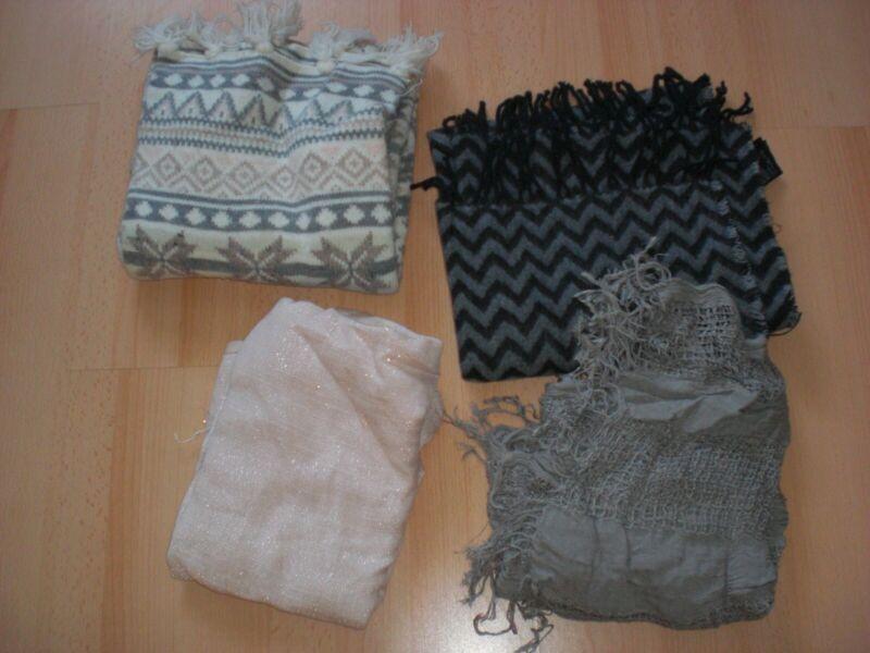 4 Schals