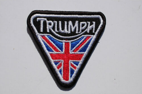 Timing Cover Union Flag Triumph Iron//Sew On Patch  No535
