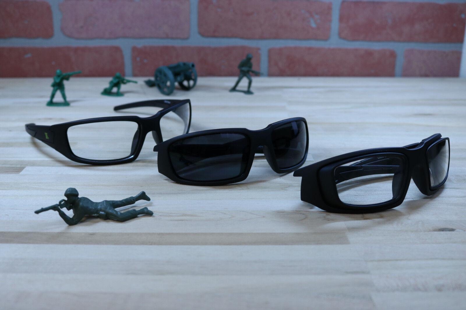 Tactical Rx disparos Gafas De Seguridad-gris O Transparente Marcos De Oso Little Lentes