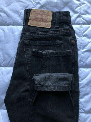 Rare Vintage Levi's 512 Tapered Jean, XS