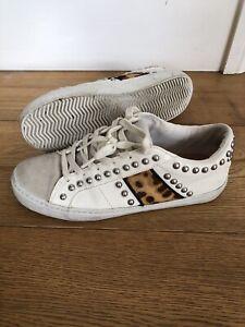 leopard print trainers zara