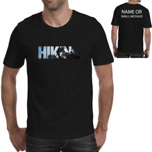 10de4c3e Hiking Personalised Funny T shirt Climbing Hiker Hike Adventure ...