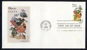 #1965A 20c Illinois, Andrews [111 De 2000] FDC Cualquier 5=