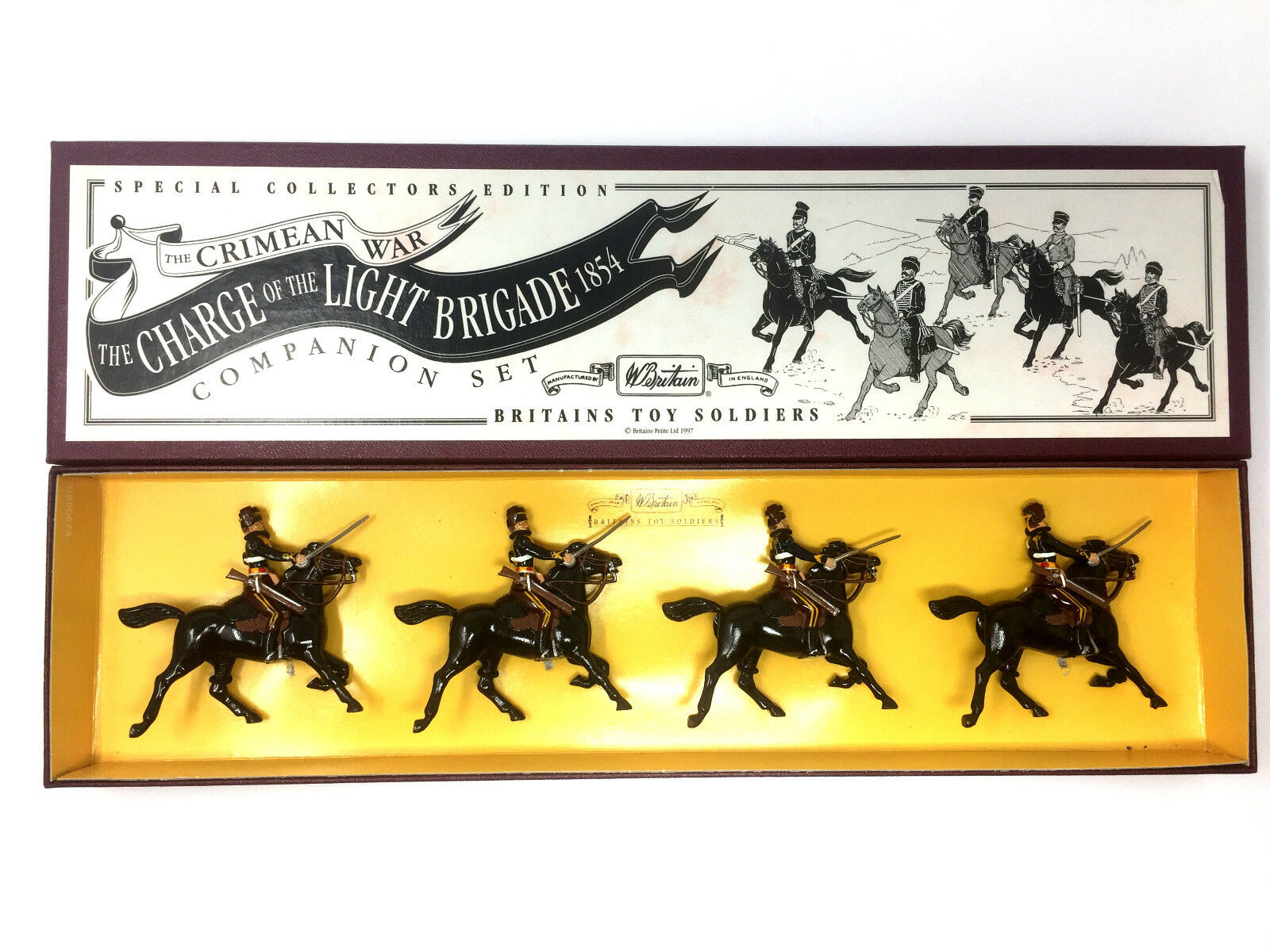 Britains Crimean War 3110 The 11th Hussars Special Collectors Edition
