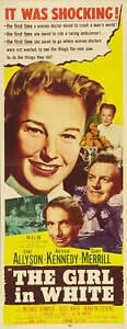 The Girl in whit June Allyson movie poster print