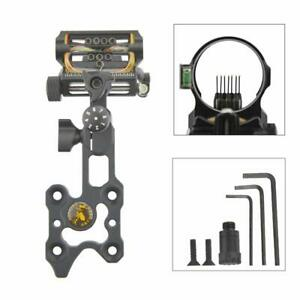 1 Pin Micro Adjustable Sight For Recurve Bow Archery Hunting Target