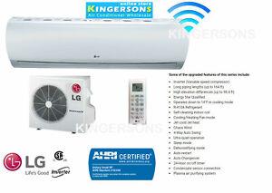 24000 Btu Lg Ductless Mini Split Air Conditioner Seer 21 Cool Heat