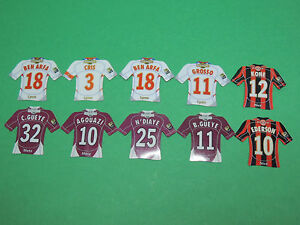 Magnet-equipe-Nice-Lyon-OL-Metz-Just-Foot-Pitch-2008-maillot-football-lot-46