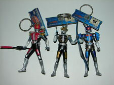 3 Kamen Rider Den-O Figure Keychains! Masked Rider Ultraman Godzilla