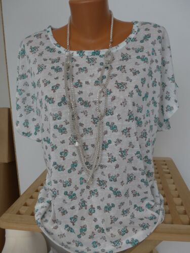 Linea Tesini Bluse Tunika Shirt Gr NEU 34-44 mit Schal 709