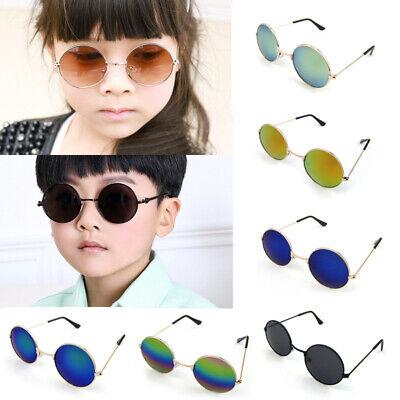 New Retro Vintage Style Kids Children Unisex Sunglasses Boys Girls Glasses UV400