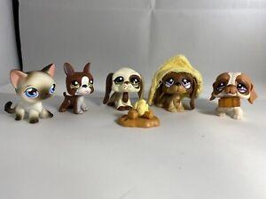 Shorthaired Cats Original Pets LPS Grab bag 5 pets etc. Littlest Pet Shops